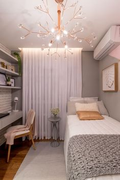Home Decoration Ideas Crafts .Home Decoration Ideas Crafts Room Ideas Bedroom, Girl Bedroom Designs, Small Room Bedroom, Home Decor Bedroom, Cozy Bedroom, Dorm Room, Home Room Design, Small Room Design, Bedroom Decorating Tips