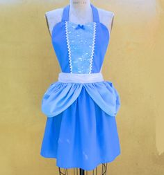 CINDERELLA APRON Princess style womens full Apron from Lover