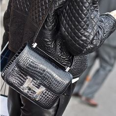 5378fe732923 bag spotting  Hermes constance satchel (rest of that outfit is none too  shabby either)