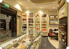 Godiva Chocolates Showroom, Abu Dhabi - Designed by The First Ferry