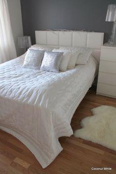 Coconut White: white christmas bedroom