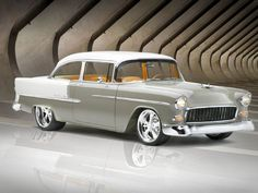 Gary Holyoak's 1955 Chevy Bel Air has LS3 for power and an Art Morrison chassis.