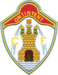 Ontinyent CF of Spain crest. Football Team Logos, Crests, Mustang, Badge, Spain, Soccer, Valencia, World, Football Team