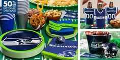 NFL Seattle Seahawks Party Supplies - Party City, Caleb's birthday