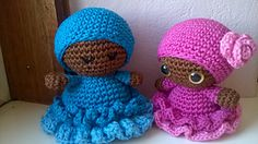 Ravelry: Jamaican Girls Amigurumi dolls pattern by Ineke Kieft