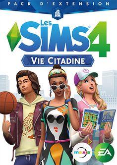 """Les Sims 4: Nouveau pack d'extension """"Vie citadine"""" pour les Sims 4 - Cet…"""