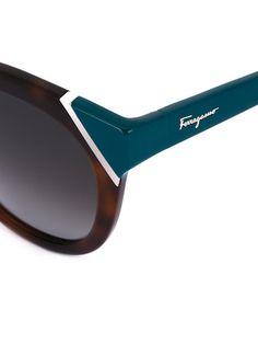 SALVATORE FERRAGAMO tortoiseshell cat eye sunglasses