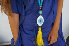 Trends Control by Lia Igam: Post The Greek Eye Tassel Necklace, Beautiful Things, Greek, Trends, Eyes, Greek Language, Bud, Beauty Trends