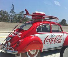 Coca-Cola and the original VW bug! Vintage Coca Cola, Coca Cola Ad, Always Coca Cola, Vw Vintage, Coca Cola Bottles, Wedding Vintage, Combi Ww, Auto Retro, Vw Cars