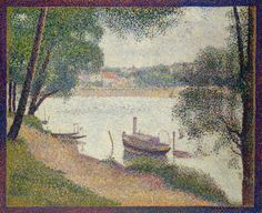 Gray Weather, Grande JatteGeorges Seurat, c. 1886-1888