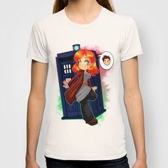 Doctor Donna  T-shirt by Lucy Fidelis - $22.00