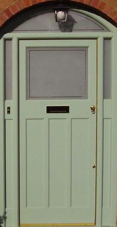 Idea of a 30s front door, this one from expensive company
