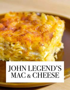 The Most-Pinned Martha Stewart Recipes of 2015 | Martha Stewart Living - Yep, this Southern classic (and all-over favorite) made the top of the list. This mac and cheese is as smooth and comforting as John Legend's voice. Martha Stewart Mac And Cheese Recipe, John Legend Mac And Cheese Recipe, Easy Baked Mac And Cheese Recipe, Baked Mac And Cheese Recipe Soul Food, Macaroni And Cheese Recipe With Egg, Mac Cheese Recipes, Food With Cheese, Creamy Macaroni And Cheese, Martha Stewart Recipes