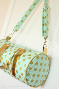 Quilted Duffel Bag - girl. Inspired.