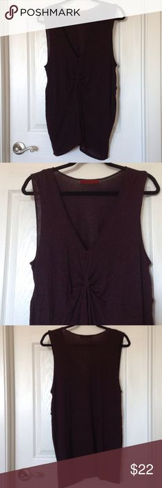 EUC Velvet brand tank EUC Velvet brand tank perfect under blazers! Lightweight rayon/spandex blend. Worn only a couple of times and shows no signs of wear. Velvet Tops Tank Tops