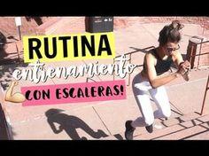 Rutina de entrenamiento en escaleras | Stairs Workout! - KeepItCaro - YouTube