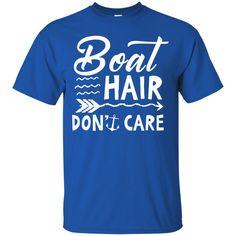 Boat Hair T-shirts Boat Hair Don't Care Floating Life Shirts Hoodies Sweatshirts