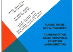 Transportation Issues:  Illinois Alliance of Administrators of Special Education Fall Conference handout 9/12. Main Site http://www.iaase.org/static.asp?path=3938  Pinned by SOS Inc. Resources http://pinterest.com/sostherapy