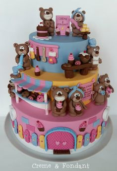 Funny Bears Bakery by Creme & Fondant
