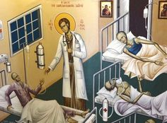Orthodox Icons, Anime, Saints, Medicine, David, Blog, Cartoon Movies, Blogging, Anime Music