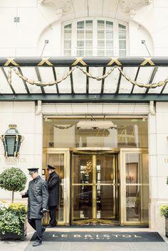 A stay at the historic Le Bristol Hotel Paris. Le Bristol Paris, Ann Street Studio, France Photography, Paris Hotels, Grand Hotel, Photo Studio, Night, Places, Design