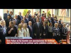 Un minuto de silencio del Rey Feipe VI por las víctimas del terrorismo