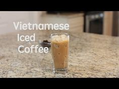 How to make Vietnamese iced coffee (Ca Phe Sua Da) - YouTube