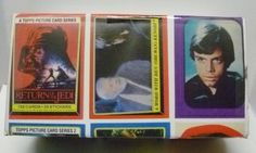 Vintage 1983 Topps Star Wars Return of The Jedi Trading Card Set 1-2 & Stickers