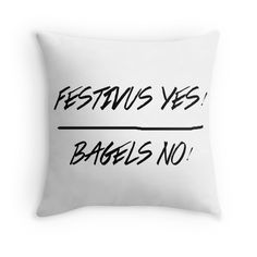 Festivus Yes! Bagels No! by CloverFi