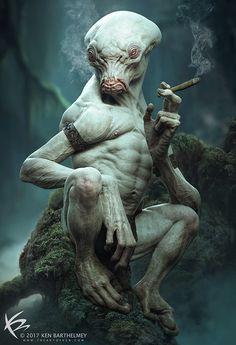 ArtStation - Smoker, Ken Barthelmey