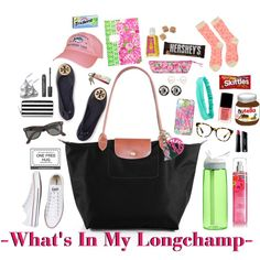 //What's In My Longchamp//