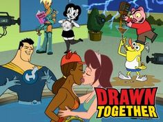 Drawn Together .Pretty Good Show. Cartoon Tv Shows, Cartoon Gifs, Cartoon Drawings, Bizarre Pictures, Best Funny Pictures, Cute Pictures, Pokemon Sinnoh, Harvey Birdman, Drawn Together