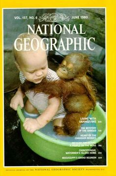 National Geographic June 1980 / National Geographic Photography / Covers