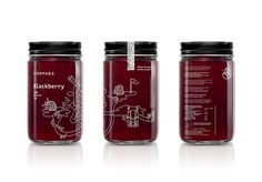 These Blackberry Products Come With Surreal Illustrations — The Dieline - Branding & Packaging Design