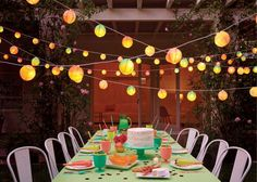 Your guests will want to chat late into the evening with these lanterns lighting the way! The Oh Joy for Target collection launches online and in stores March Garden Party Decorations, Paper Decorations, Best Outdoor Lighting, Outdoor Decor, Lighting Ideas, Rooftop Party, Rooftop Garden, Sunset Party, Prom Decor