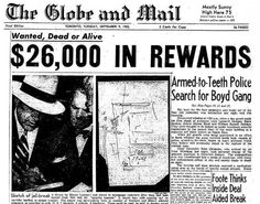 Toronto Bank Robbers