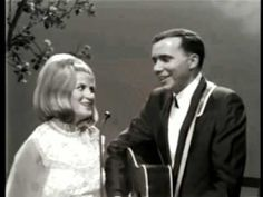Skeeter Davis & Bobby Bare sing 'Let It Be Me' at the Grand Ole Opry Lyric: I bless the day I found you I want to stay around you And so I beg you let it be . Z Music, Good Music, Dear John Letter, Skeeter Davis, Nostalgic Songs, Old Country Music, Music Stuff, Rolling Stones, Rock N Roll