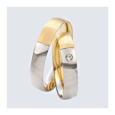 Verighete cu briliante, din aur alb cu aur galben. Flats, Sandals, Twins, Slip On, Wedding Rings, Shoes, Fashion, Loafers & Slip Ons, Moda