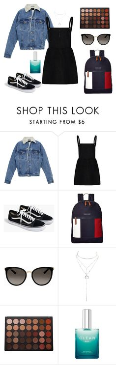 """Untitled #173"" by vega-skouboe-lindberg on Polyvore featuring J.Crew, Tommy Hilfiger, Gucci, Charlotte Russe and Morphe"