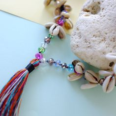 ☾ Celebrate your boho spirit with this beautiful cowry shell and tassel necklace ☾  A bohemian inspired handmade necklace. Made with love from cowry shells we sourced during our travels on the beaches in Bali. This necklace looks great worn alone or layered with other pieces of jewellery and has a real boho feel.  We really pride ourselves on our great customer service and we're happy to refund you if you are not 100% with your order from us. All of our necklaces will be posted to you in one…