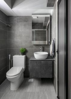 Contemporary bathrooms look clean cut and fresh, always with stylish details too, to pull the finishing look together. Modern contemporary bathrooms can. Contemporary Bathroom Designs, Bathroom Layout, Modern Bathroom Design, Bathroom Colors, Bathroom Interior Design, Bathroom Ideas, Contemporary Style, Bathroom Vanities, Bathroom Cabinets