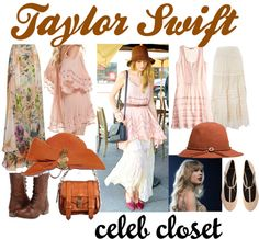 Taylor Swift Closet, created by shaley1 on Polyvore
