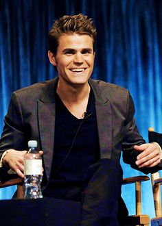 Paul Wesley... his smile (: {by Paria}