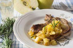 Un'idea originale per preparare la carne di suino? Provate queste costolette di maiale alle mele! Un secondo piatto molto semplice ma irresistibile.