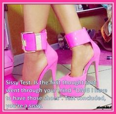 Sissy-Stable shoes