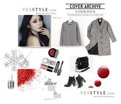 """""""YESSTYLE CONTEST """" WINTER FASHION"""""""" by dandi-gramov ❤ liked on Polyvore featuring DEEPNY, ssongbyssong, SWEET MANGO, Kit Heath, Topshop, Bobbi Brown Cosmetics, Axixi, Anja, Essie and women's clothing"""