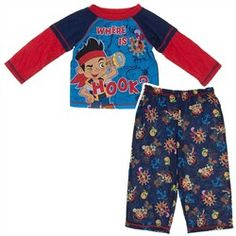 Jake Where is Hook Toddler Pajamas for Boys Cool Gifts For Teens 42e8a166d