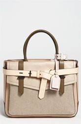 Reed Krakoff 'Boxer' Colorblocked Leather Satchel