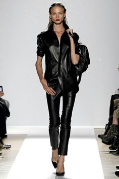 Barbara Bui SS14 all leather look