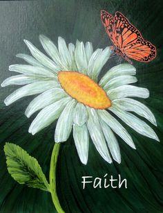 """Faith"" - Artwork by Lorraine Skala - notecards & prints available in my Etsy Shop"